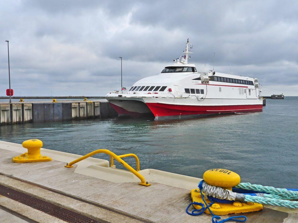 L'Exprès des îles : Bateau pour Marie Galante départ de Pointe à Pitre